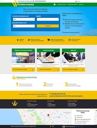 site web societe goupe obc maroc creation et hebergement web maroc heberdomaine